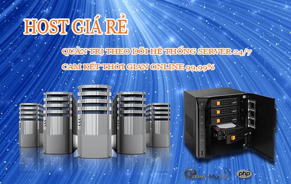 Dịch vụ web hosting linux giá thành cạnh tranh
